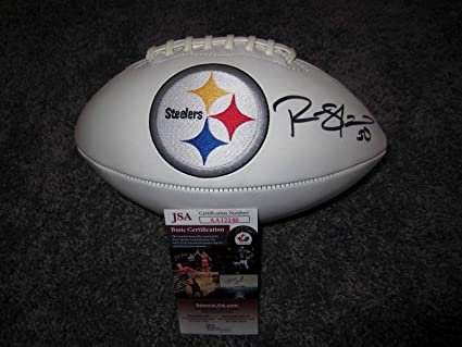54587234e Ryan Shazier Signed Football - Logo w COA New - JSA Certified - Autographed  Footballs