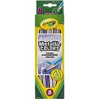 Crayola 8 Metallic Colored Pencils