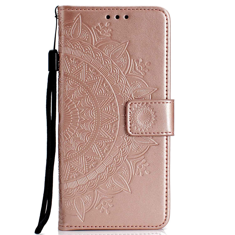 DENDICO Funda Galaxy Note 9, Funda de Cuero con Portatarjetas, Cartera Carcasa Plegable Cartera en Piel Premium para Samsung Galaxy Note 9 - Verde DDCES29N9-0202