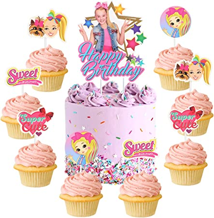 JoJo Siwa Birthday Cake Topper