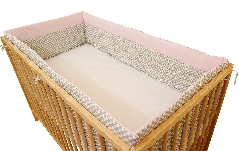 Zweifarbiges Nestchen Neuheit Baby Bett Kantenschutz