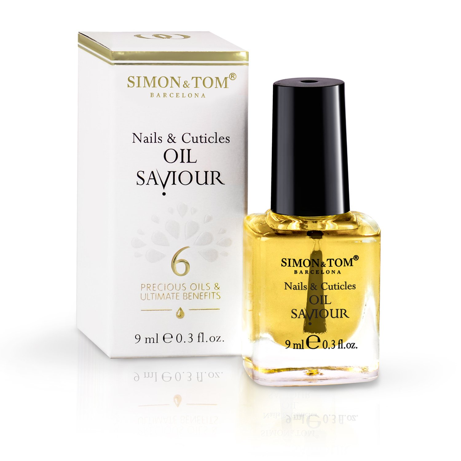 Simon & Tom - Nails & Cuticles Oil Saviour and Repair. 100% natural ...