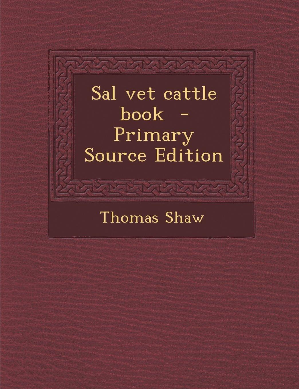 Download Sal vet cattle book pdf