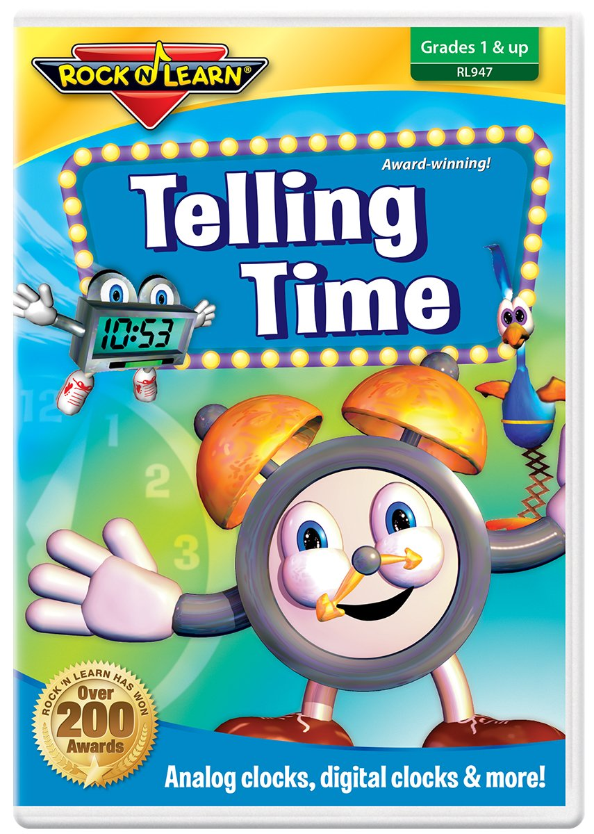 Telling Time DVD by Rock 'N Learn