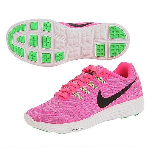 Scarpe da corsa in rosa nero bianco delle scarpe da