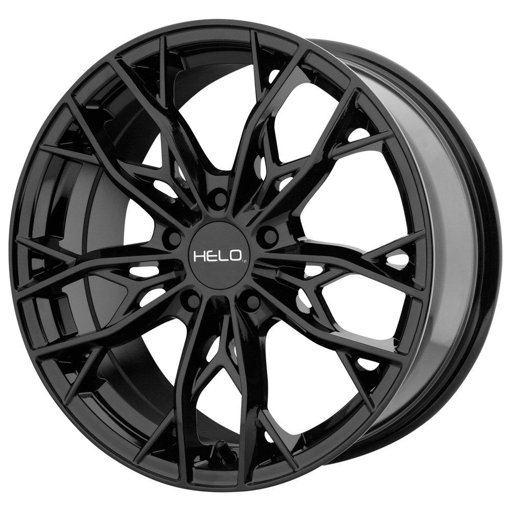 Helo HE907 16x7 5x114.3 +38mm Gloss Black Wheel Rim