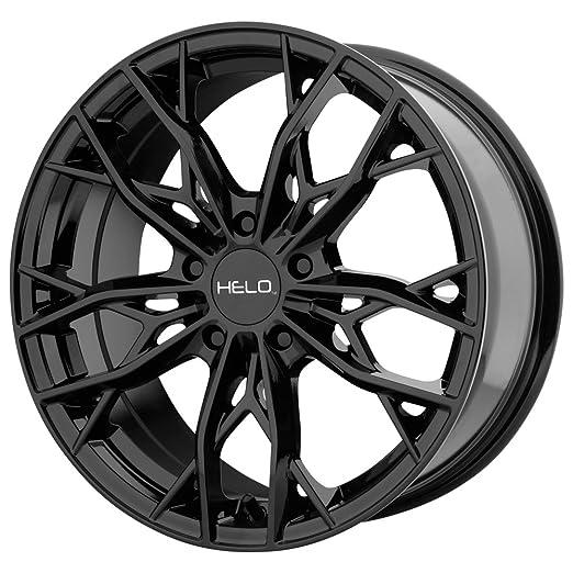 Amazon Com Helo He907 18x8 5x114 3 40mm Gloss Black Wheel Rim