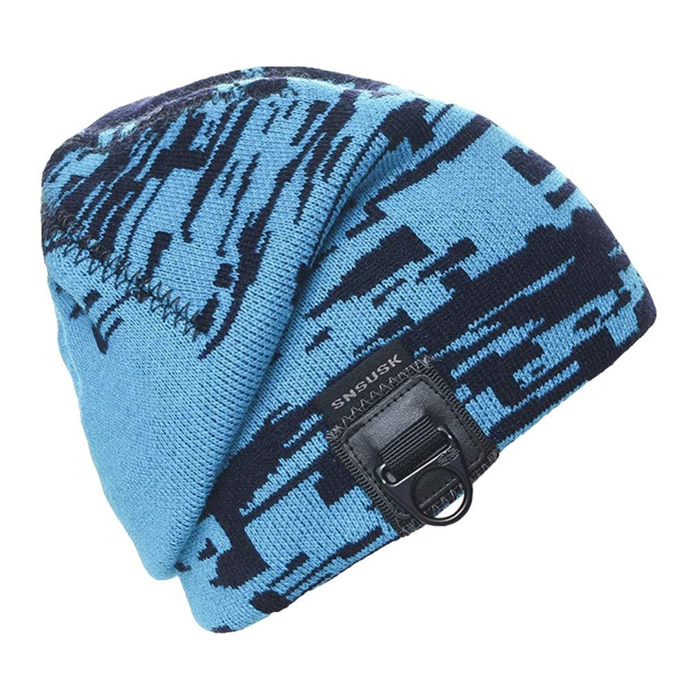 COMVIP 4Styles Unisex Winter Warm Soft Knit Stretchy Slouchy Skull Beanie Hat