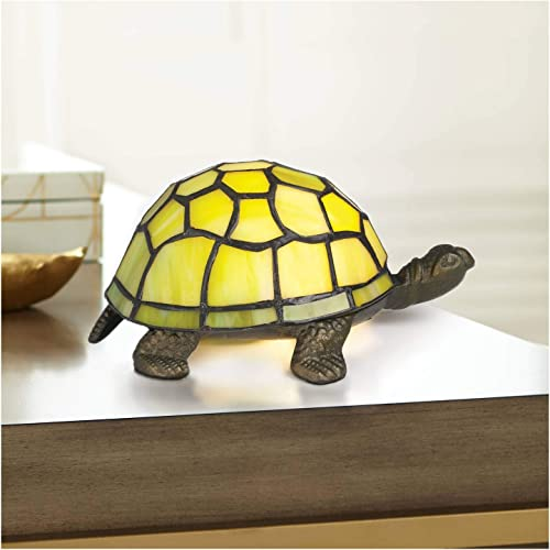 Green Tortoise Tiffany Style Accent Lamp – Robert Louis Tiffany