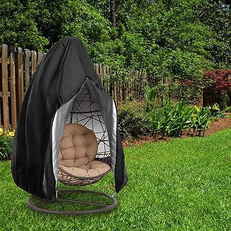 FJROnline - Funda para silla colgante de jardín, tela Oxford, impermeable, elástica, con cremallera, 115 x 190 cm, A, 35*35CM: Amazon.es: Hogar