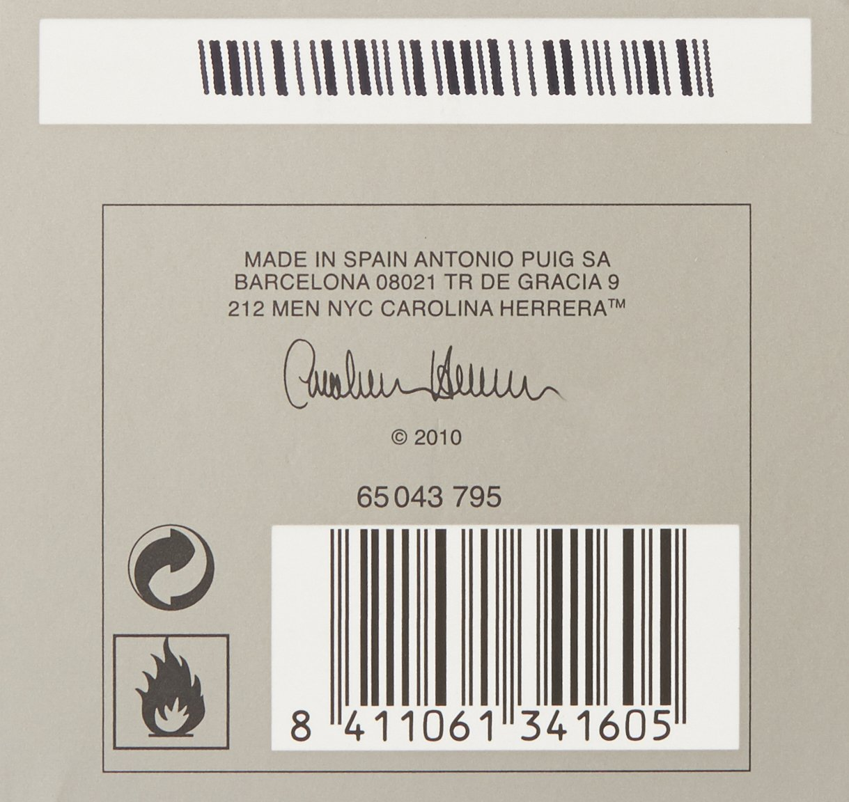 02a65453d Amazon.com   212 By Carolina Herrera For Men. Eau De Toilette Spray 3.4  Ounces   Deodorants And Antiperspirants   Beauty