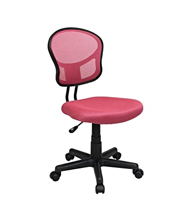 osp designs mesh task chair color hot pink