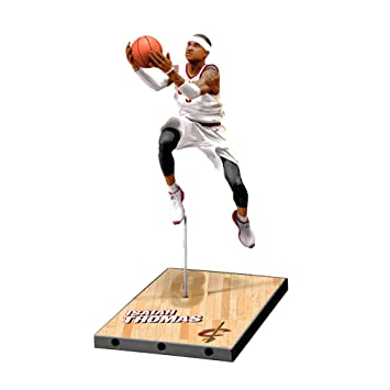 McFarlane NBA Series 32 Isaiah Thomas Cleveland Cavaliers Silver Level 7 in Figura De Acción
