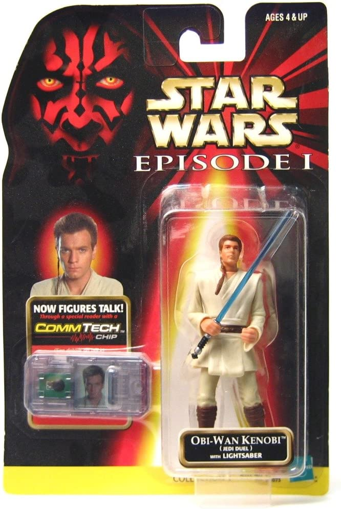Details about  /Obi-Wan Kenobi Naboo .0100 Episode 1  1999 Star Wars Action Figure