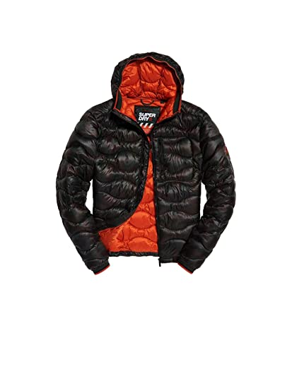 Superdry Thermal Camouflage Down Jacket at Amazon Men's