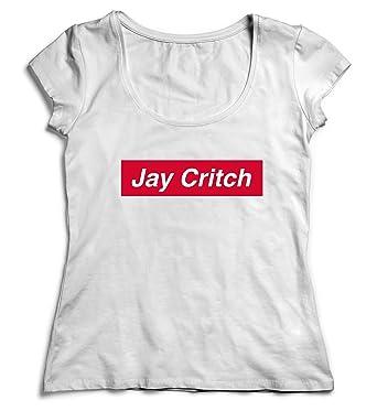 Amazon.com  MYMERCHANDISE Jay Critch Supreme T-Shirt Shirt Tshirt Women  Women s  Clothing 0f7984ba8f