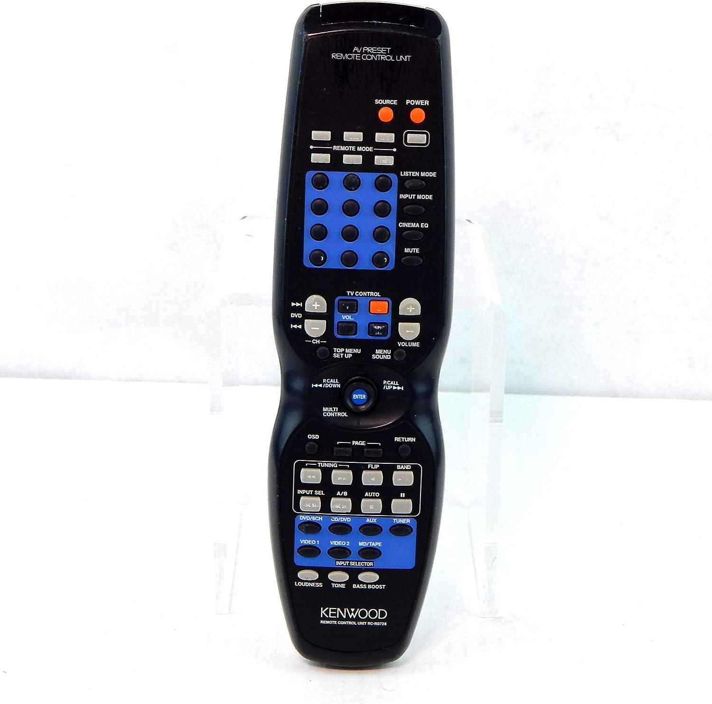 VR616 VR606 VR605 KRFV5560D HTB705DV KRF-V5060D RCR0622 KRF-V4060D VR615 Kenwood RC-R0728 AV Receiver System Remote Control for HTB405 RCR0623 Systems HTB505