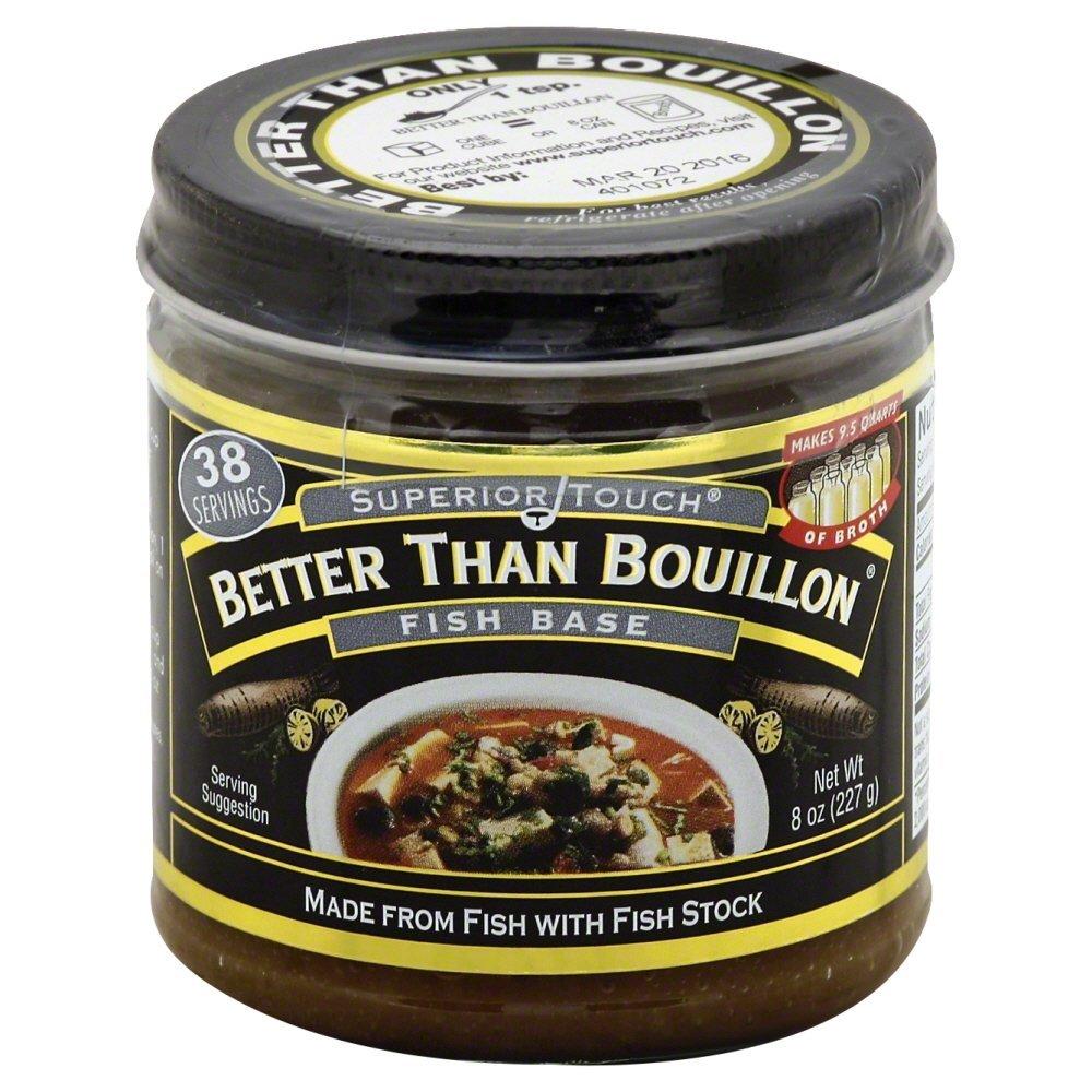 Better Than Bouillon Fish Base 8.0 OZ(Pack of 12)