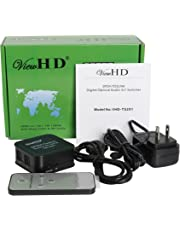 ViewHD SPDIF | TOSLINK Digital Optical Audio Switcher 3x1 with Remote Control | VHD-TS3X1