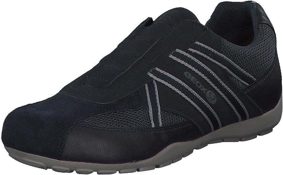 Geox Men's Ravex 4 Sneaker, Navy 41