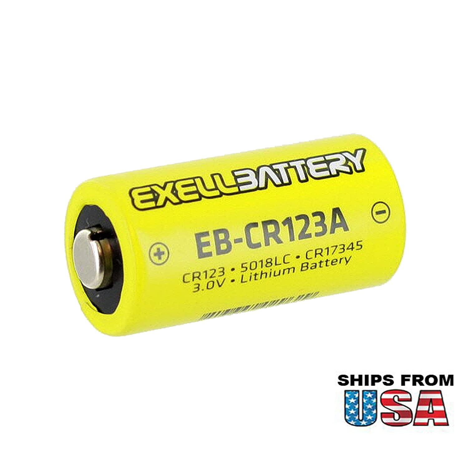 Exell EB-CR123A Photo Lithium Battery Replacement
