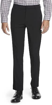 Van Heusen Men's Stain Shield Stretch Slim Fit Flat Front Dress Pant