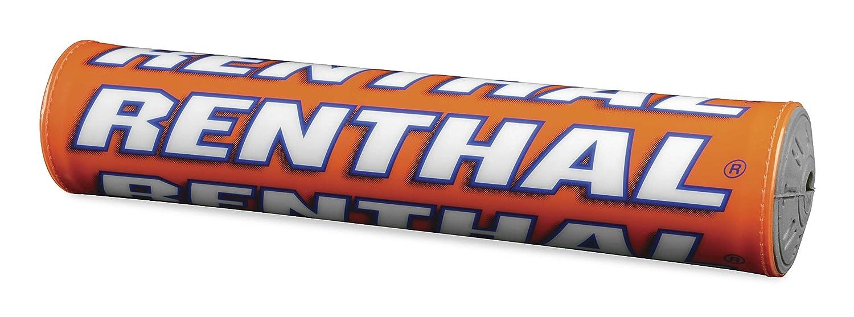 Renthal Team Issue SX Crossbar Pad - 9.5in./240mm - Troy Lee Design/Orange P308