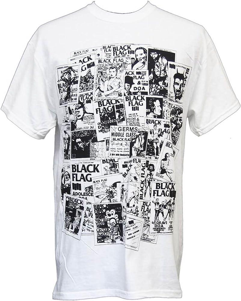 FEA - Camiseta - para Hombre Blanco Blanco Small: Amazon.es: Ropa y accesorios
