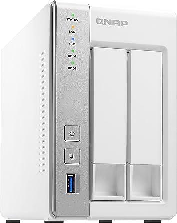 QNAP TS-231P2 NAS Torre Ethernet Blanco - Unidad Raid (Unidad de ...