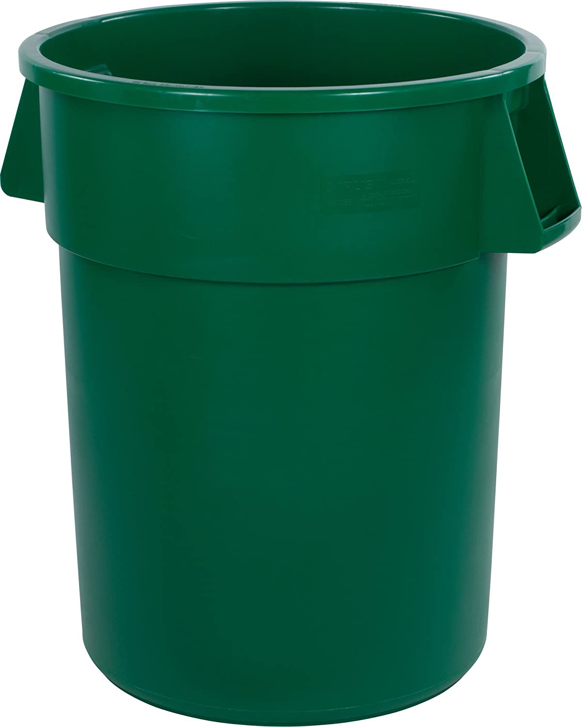 Carlisle 34101004 Bronco Round Waste Container Only, 10 Gallon, Yellow Carlisle Corporation