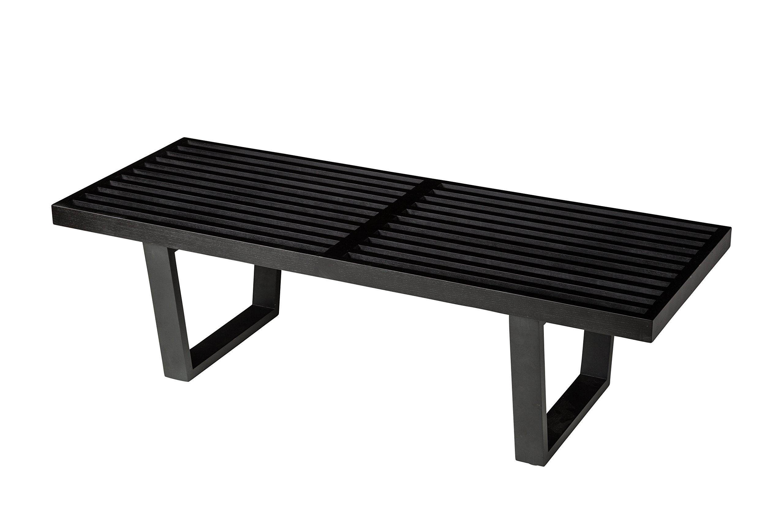 Platform Bench 48'' with Black Finish
