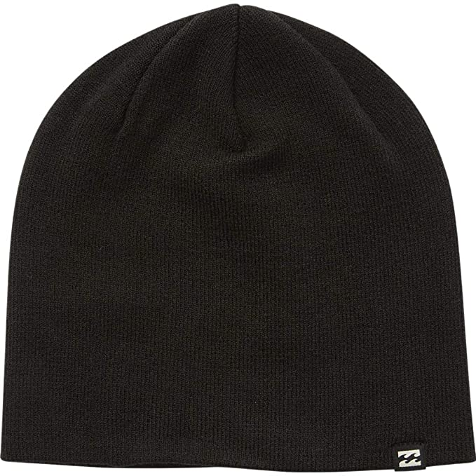 5cc491f2ca1 Amazon.com  Billabong Men s All Day Solid Beanie Black One Size ...