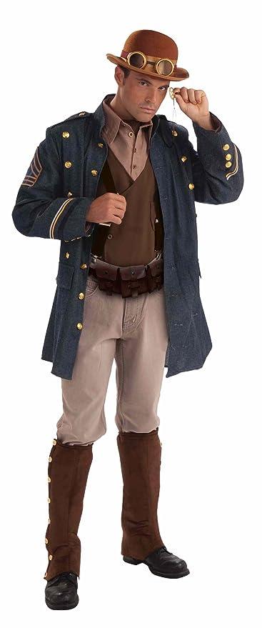 Steampunk Clothing- Men's Forum Steampunk General Complete Costume  AT vintagedancer.com