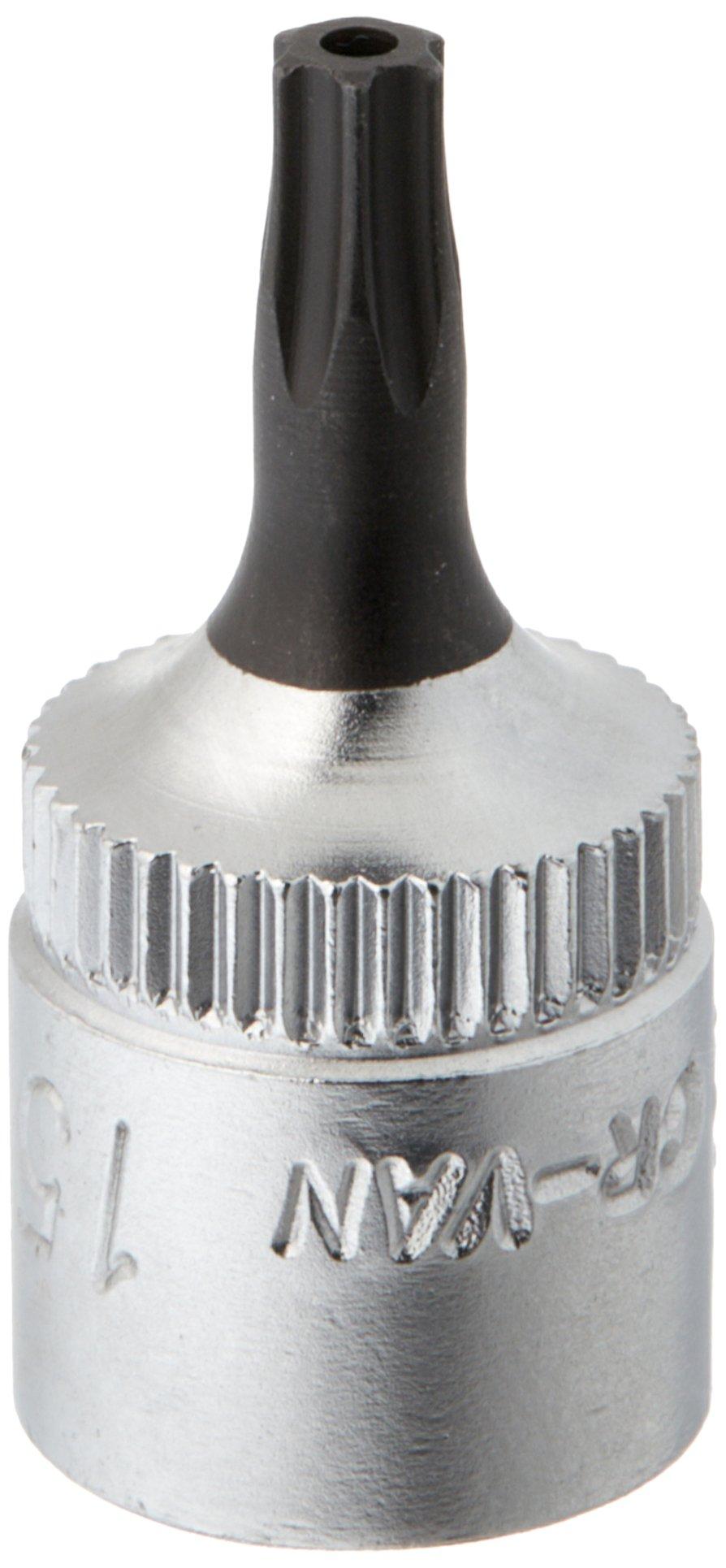 Elora 3243010152000 Screwdriver socket 1/4'' for TORX safety screws Size 15