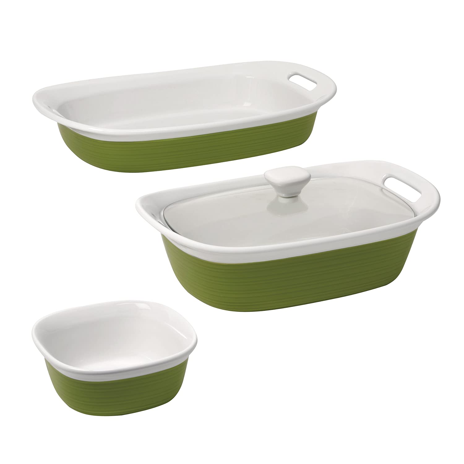CorningWare Etch 4 Piece set World Kitchen (PA) 1096865