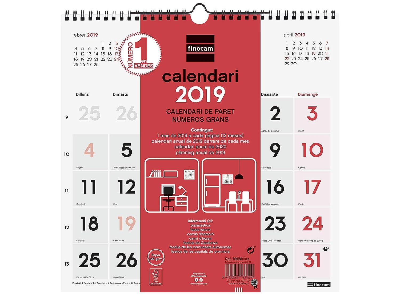 calendario de pared Mafalda 2019 Granica GB00116