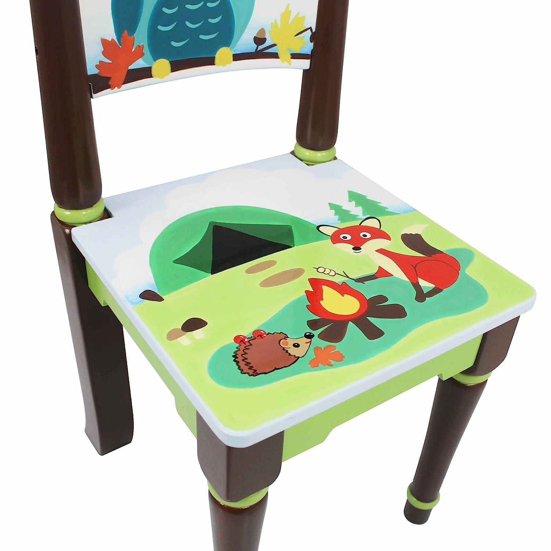 Fantasy Fields Knights Knights Knights and Dragons Kids Holz-Stuhl-Set Kinderzimmer TD-11837A2 e02ff9