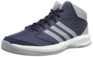 164332836e6 adidas Performance Mens Isolation Running Shoes G98300 Collegiate Navy Mid  Grey Running White FTW