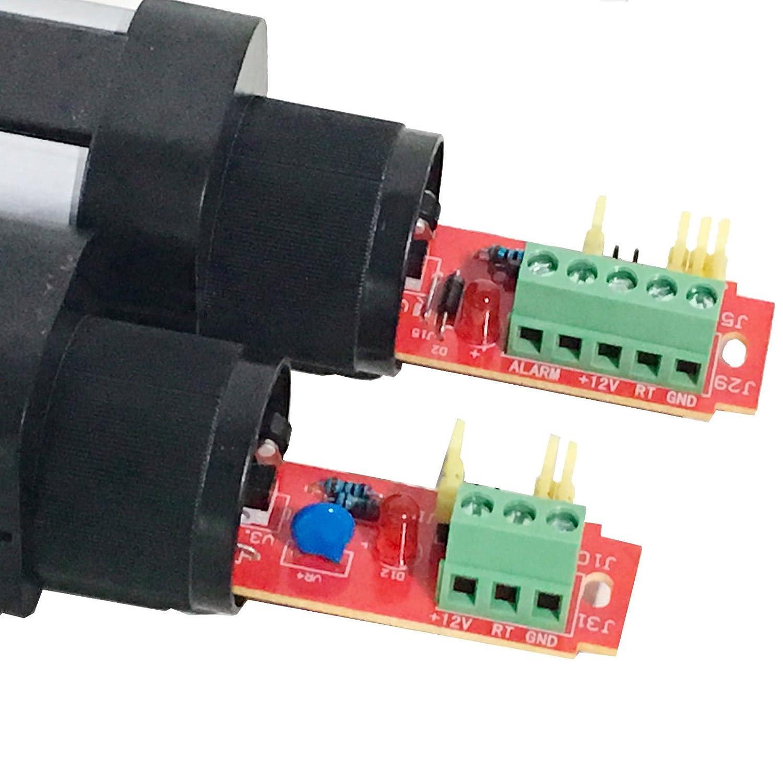 UHPPOTE Digital 6 Haces Detector Activo Infrarrojo Al Aire Libre Distancia De 10M Sensor de Detector de Barrera Para Jardín,Casa: Amazon.es: Industria, ...