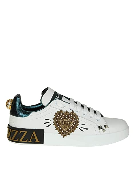Dolce E Gabbana - Zapatillas para Mujer Blanco IT - Marke Größe, Color, Talla 37.5 EU: Amazon.es: Zapatos y complementos
