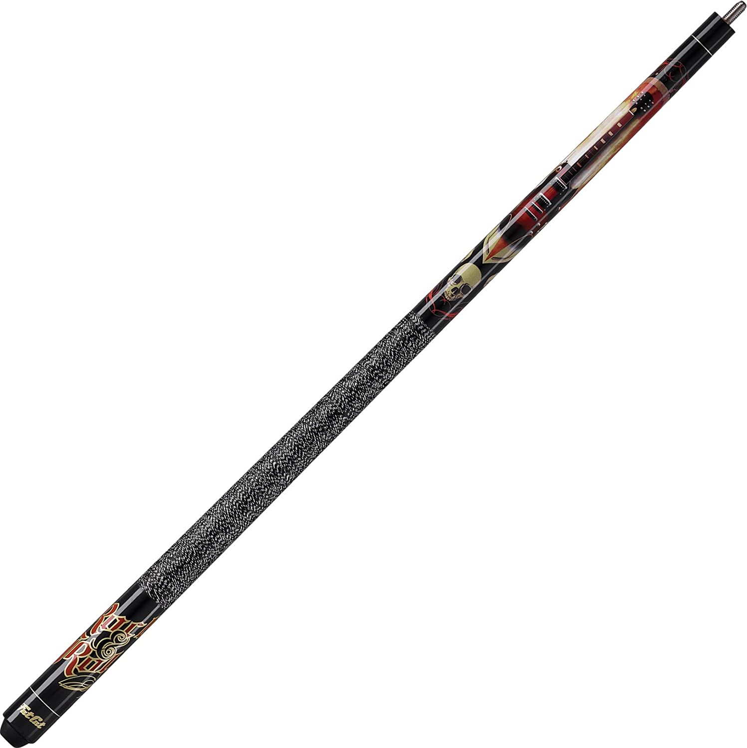 Fat Cat Edge 57 2-Piece Billiard/Pool Cue, Rock & Roll, 19 Ounce 50-8113