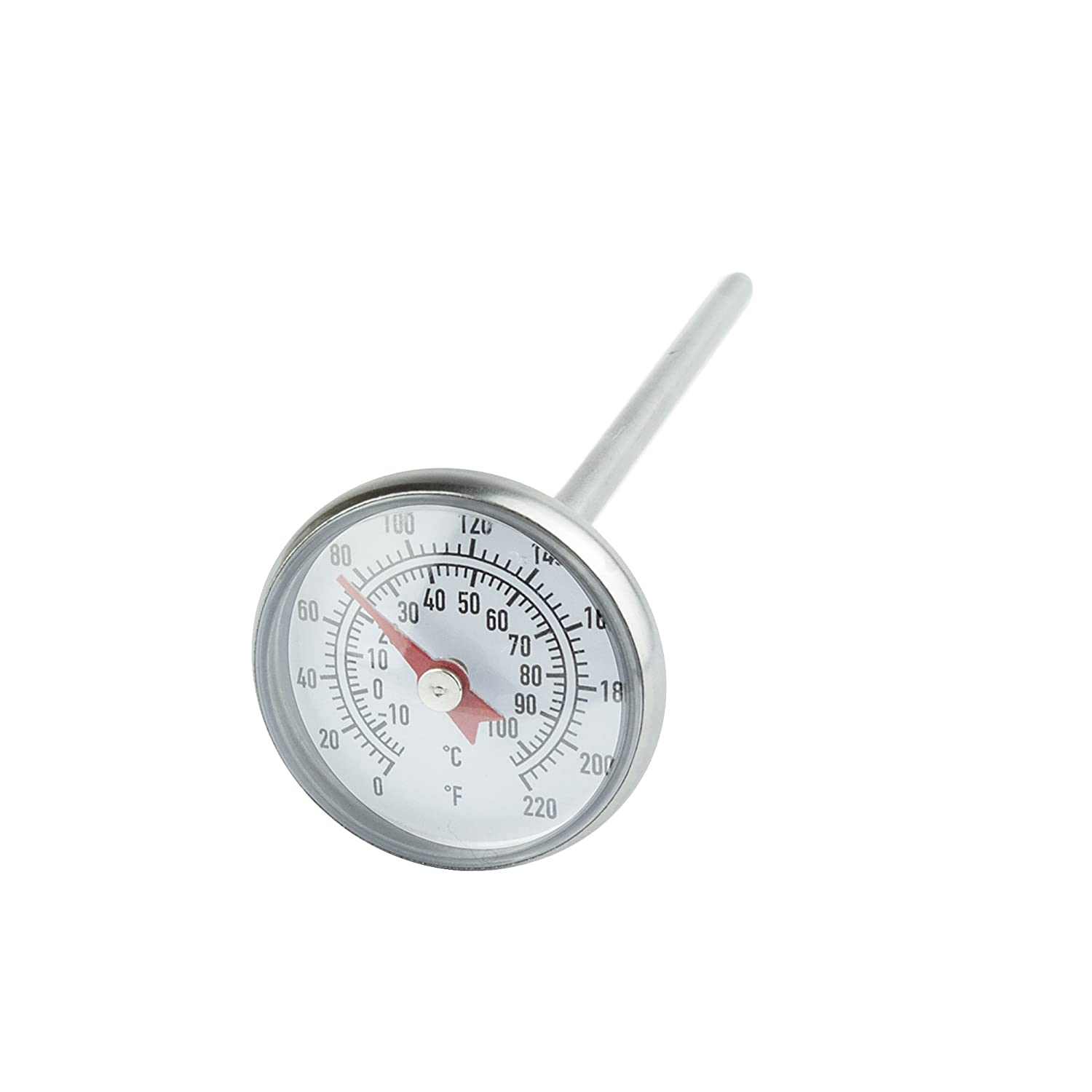 jardin du /écran 2,8/ cm Cadran facile /à lire Choix Judicieux en acier inoxydable Thermom/ètre de sol par 127/ mm Tige 100/ degr/és Celsius Gamme Compost Soil Temp/érature Thermom/ètre pour sol