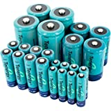Tenergy High Capacity NiMH Rechargeable Combo with 24 batteries 8AA/8AAA/4C/4D --- SALE!