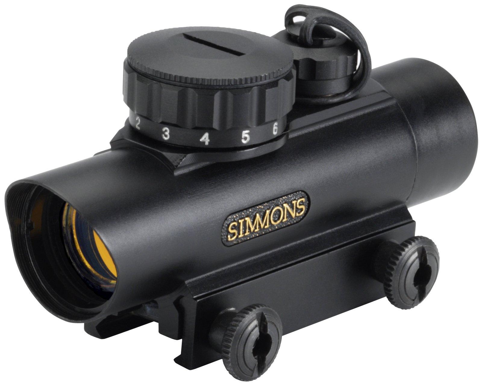 Simmons RedDot 1 x 20mm 5-MOA Dot, Red Illuminated Scope