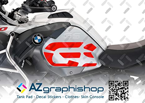 2 Adesivi Fianco Serbatoio Moto R 1200 gs adventure LC GS big 2014-2019