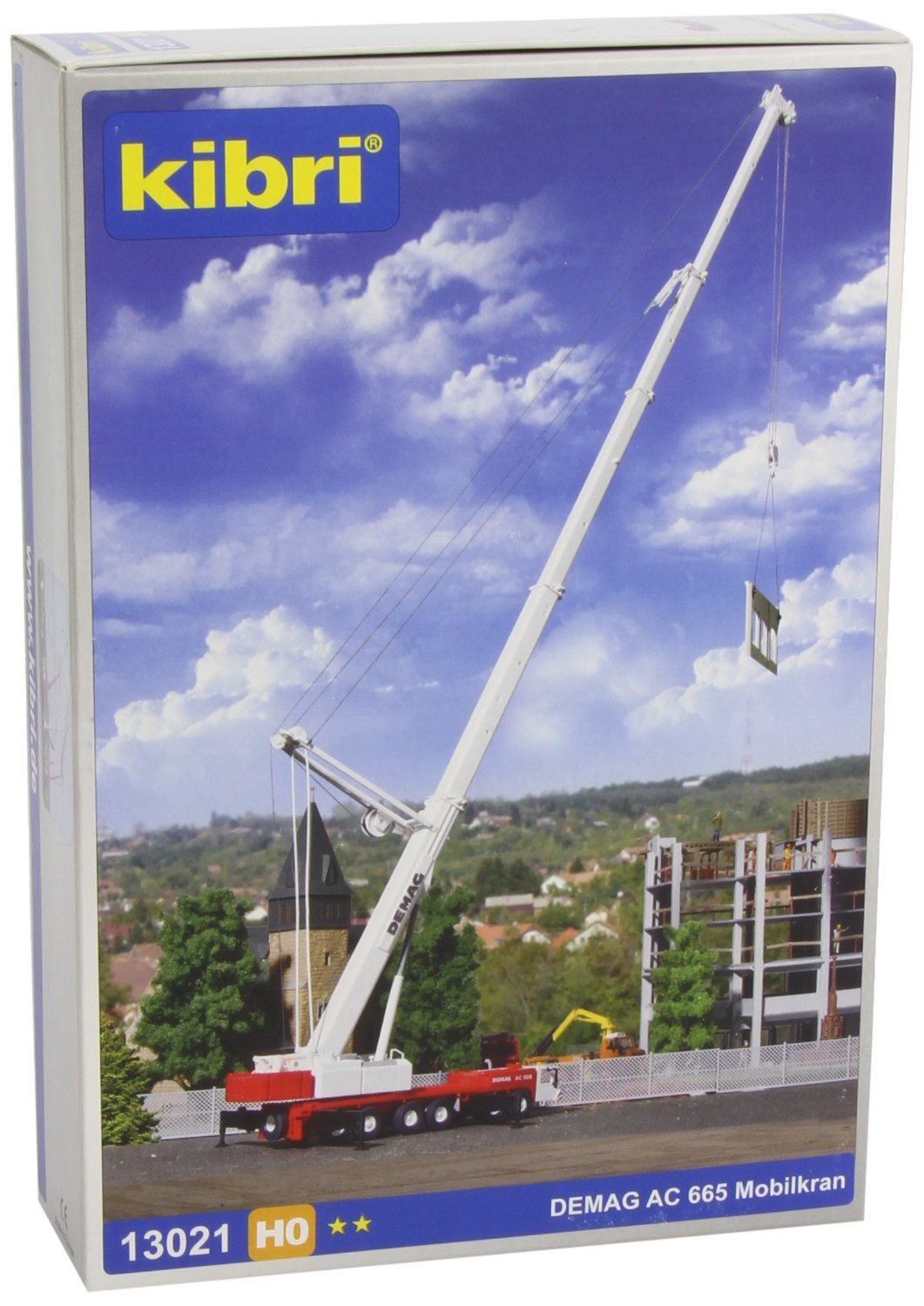Kibri 13040 Breuer /& Wasel Crane Kit