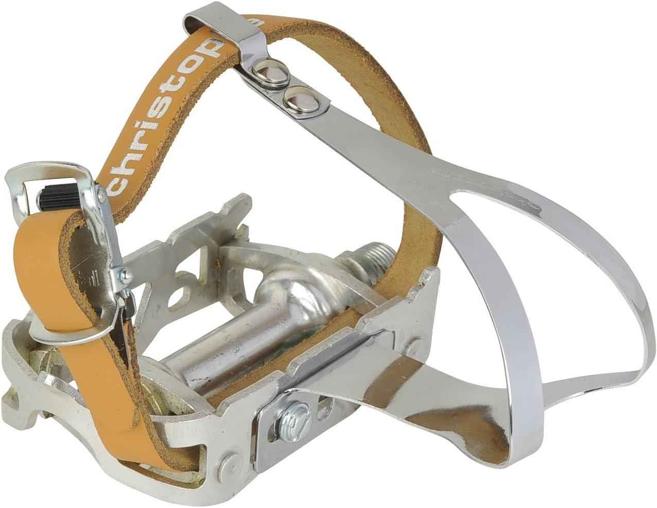 Zefal Christophe Steel 50 Toe Clips Metallic