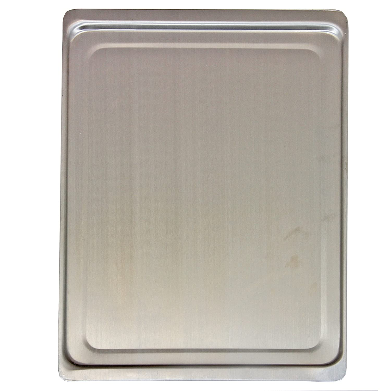 KuKoo Acero Inoxidable Chapa para Adicional para Horno Horno Chapa 44 cm x 31,5 cm Lisa Superficie de Aluminio: Amazon.es: Hogar