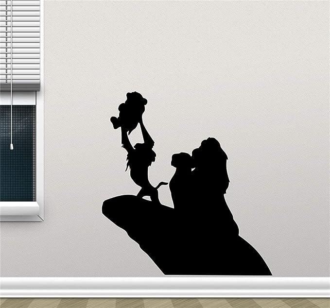 pegatina de pared pegatina de pared 3d Lion King Decal Lion King ...