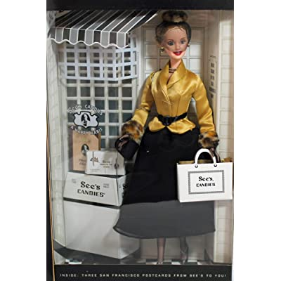 Barbie I Left My Heart in San Francisco See's Candies Special Edition - 2001: Toys & Games